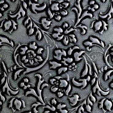 Dekoratīvais panelis LL FLORAL Black/Silver mat 9897