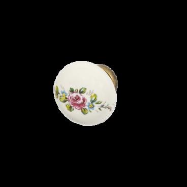 Rokturis poga, porcelāns 13450