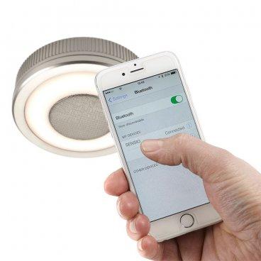 LED lampa ar Bluetooth skaļruni 8W 8058