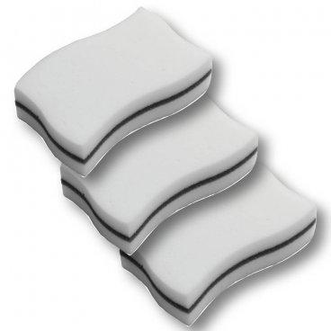 Губки для ухода раковин 3 шт. 9066